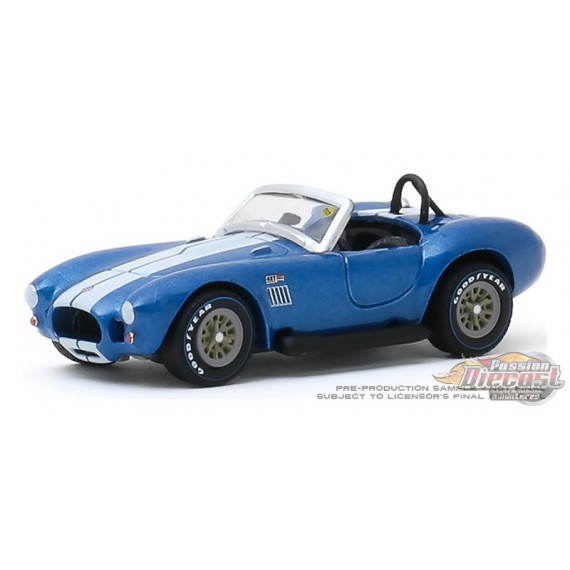 1967 Shelby 427 S/C Cobra Roadster  Mecum Auctions Series 4, 1-64 greenlight 37190 A  Passion Diecast