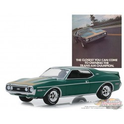 1971 AMC  Javelin AMX  - Vintage Ad Cars Series 1,  1-64 greenlight 39020 D Passion Diecast