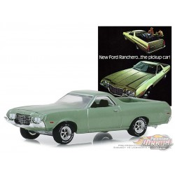 1972 Ford Ranchero  - Vintage Ad Cars Series 1,  1-64 greenlight 39020 E Passion Diecast