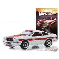1978 Ford Mustang II Cobra II   - Vintage Ad Cars Series 1,  1-64 greenlight 39020 F Passion Diecast