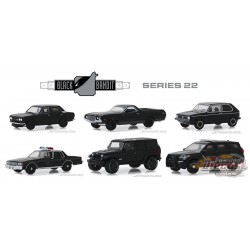 Black Bandit Series 22  Assortment  1-64 greenlight 28010  Passion Diecast