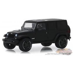 2017 Jeep Wrangler Unlimited  - Black Bandit Series 22, 1-64 greenlight 28010 E Passion Diecast