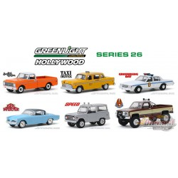 Hollywood Series 26 -  Assortment  1-64 greenlight 44860  Passion Diecast