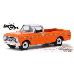 1971 Chevrolet C-10 - Sanford and Son TV Series - Hollywood Series 26 -  1-64 Greenlight 44860 A Passion Diecast