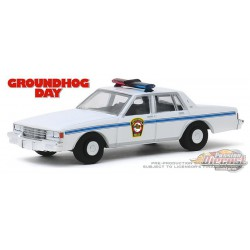 1980 Chevrolet Caprice Police - Groundhog Day - Hollywood Series 26 - 1-64 Greenlight 44860 C Passion Diecast