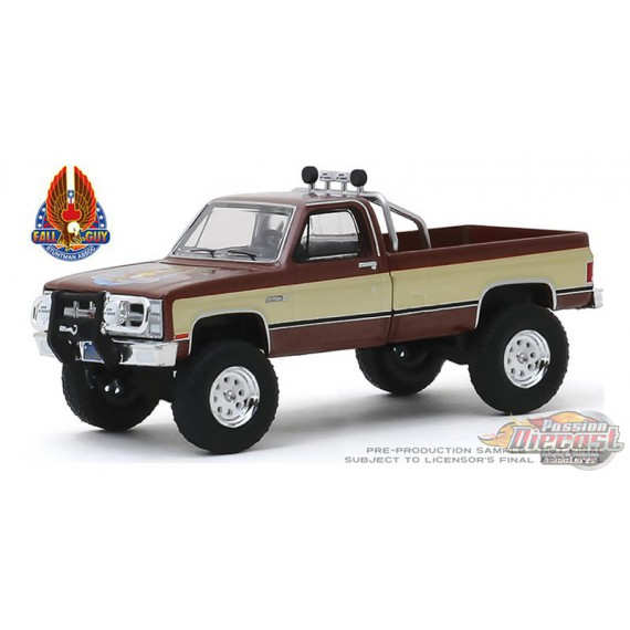 Fall Guy Stuntman Association - 1982 GMC K-2500  Hollywood Series 26 Greenlight  44860 F   Passion Diecast