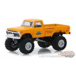 Truk - 1977 Ford F-250 Monster Truck - Kings of Crunch Series 5 - 1-64 greenlight 49050 B   Passion Diecast