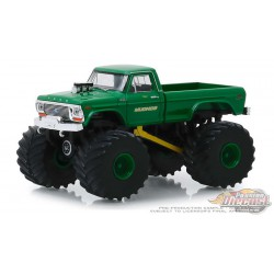 Mudhog - 1979 Ford F-250 Monster Truck - Kings of Crunch Series 5 - 1-64 greenlight 49050 C Passion Diecast