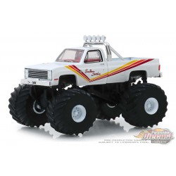 Southern Sunshine - 1981 Chevrolet K20 Silverado Monster Truck - Kings of Crunch Series 5 - 1-64 greenlight 49050 D  Passion D