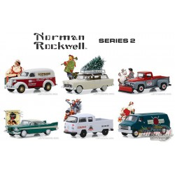 Norman Rockwell Series 2 -  Assortment  1-64 greenlight 54020  Passion Diecast