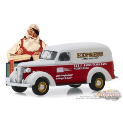 1939 Chevrolet Panel Truck - Livraison express de lettres  - Norman Rockwell Series 2 - 1-64 Greenlight 54020 A Passion Diecast
