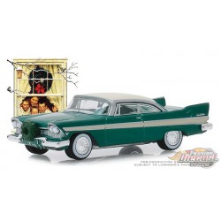 1957 Plymouth Belvedere with Wreath Accessory - Norman Rockwell Series 2 - 1-64 greenlight 54020 D  Passion Diecast