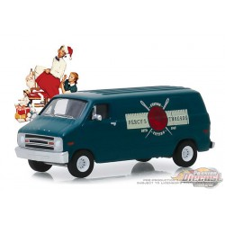 1977 Dodge B-100 Van - Percy's Threads - Norman Rockwell Series 2 - 1-64 greenlight 54020 F  Passion Diecast