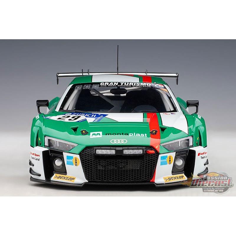 Audi R8 LMS 24HR Nurburgring 2017 Winner Autoart 81701