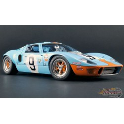 FORD GT40 MKI #9 - 1968 24 HEURES DE LE MANS  Masterpiece Collection 1/12  M1201004 Passion Diecast