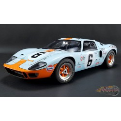 FORD GT40 MKI No 6 - 1969  LE MANS Winner  Masterpiece Collection 1/12  M1201006 Passion Diecast