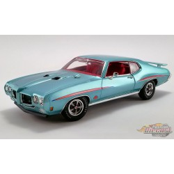 1970 Pontiac GTO Judge  -Mint Turquoise on Dark Red  Acme 1/18 A1801213  Passion Diecast