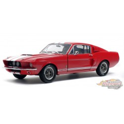 Ford  Shelby Mustang GT500 1967 Red   Solido 1/18  S1802902   Passion Diecast