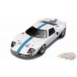 FORD GT40 MK1 WIDEBODY White   Solido 1/18  S1803002 Passion Diecast