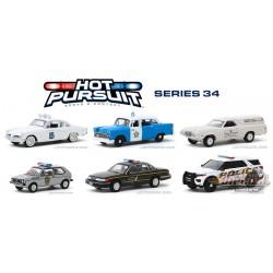 Hot Pursuit Series 34 -  Assortment  1-64 greenlight 42910  Passion Diecast