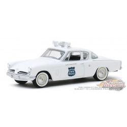 1953 Studebaker Commander - Indiana State Police - Hot Pursuit Series 34 - 1-64 greenlight 42910 A Passion Diecast