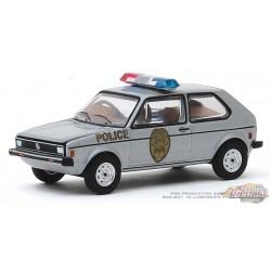 Volkswagen Rabbit 1980 - Greensboro, North Carolina Highway Patrol - Hot Pursuit 34 - 1-64 greenlight 42910 D  Passion Diecast