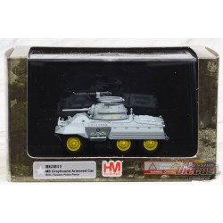 Voiture blindée M8 Greyhound  Taiwan Police Force, Hobby Master 1/72  HG3811 Passion Diecast