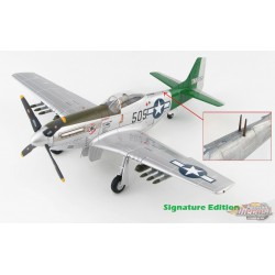 North American P-51D Mustang, USAAF, Abner Aust, Iwo Jima, 1945, Signature Edition  Hobby Master  HA7743 A