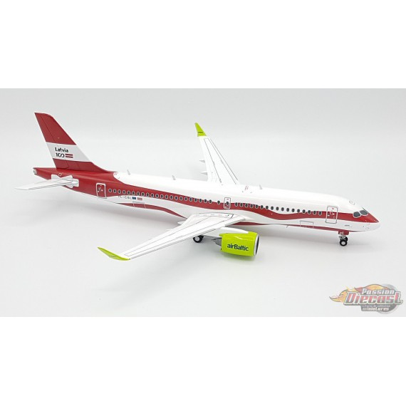 Air Baltic Airbus A220-300  (Bombardier CS300) YL-CSL Latvia 100  Herpa 1/200  559690 Passion Diecast