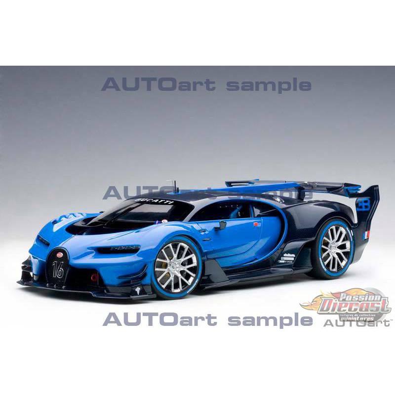 Bugatti Gran Turismo: Bugatti Vision Gran Turismo -Bugatti Light Blue Racing