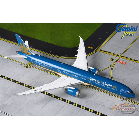 Vietnam Airlines Boeing 787-10 Dreamliner - VN-A879 -  Gemini Jets - GJHVN1903  -  Passion Diecast