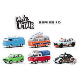 1/64 Club Vee-Dub Series 10  assortment Greenlight 29980 -  PASSION DIECAST