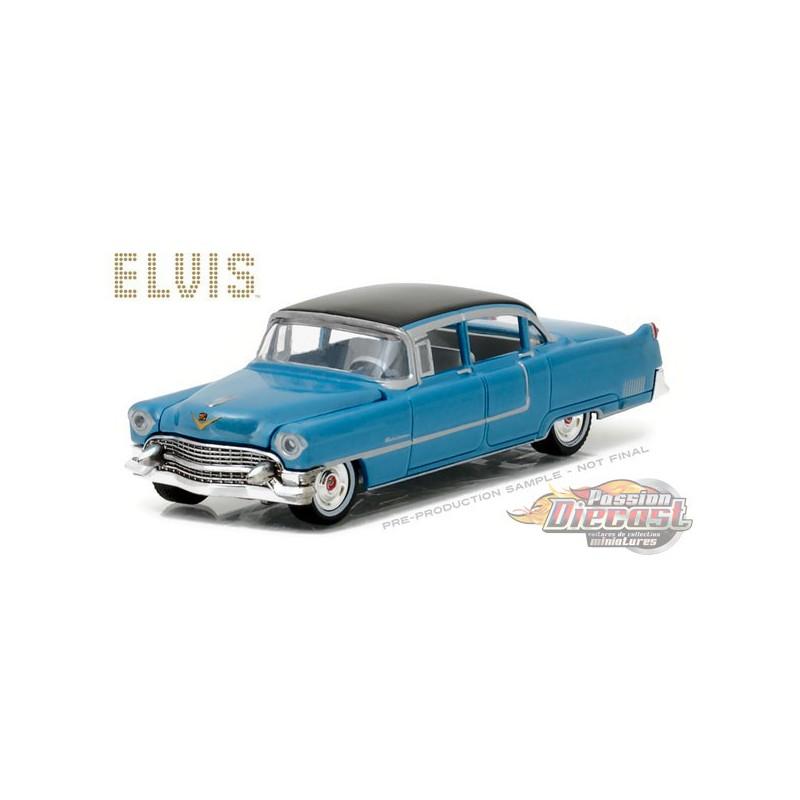 1955 cadillac fleetwood series 60 Blue elvis presley 1:64 GreenLight 44760