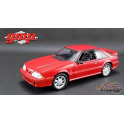 1993 Ford Mustang Cobra in Red with Black Interior  1/18 GMP  18922 Passion Diecast