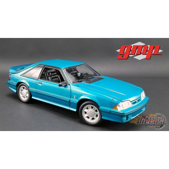 1993 Ford Mustang Cobra in Teal Bleu with Black Interior  1/18 GMP  18923 Passion Diecast