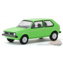 1975 Volkswagen Rabbit in Rallye Green  -  Club Vee-Dub 10 - Greenlight 1/64 - 29980 D PASSION DIECAST