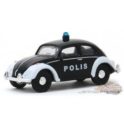 Volkswagen Beetle - Trollveggen, Norway Polis -  Club Vee-Dub 10 - Greenlight 1/64 - 29980 F PASSION DIECAST