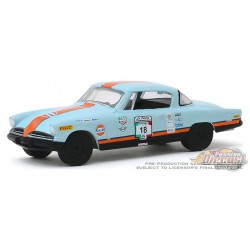 1953 Studebaker Champion Gulf OiL no 18 - La Carrera Panamericana   2  - Greenlight 1-64  -  13260 B -  Passion Diecast