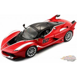 Ferrari FXX K  Rouge  -  Bburago 1/24 - 26301 -RD  - Passion Diecast