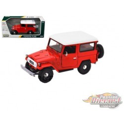 Toyota FJ40  Red - Platinum Collection - Motormax 1/24  - 79323