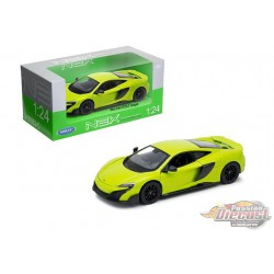 McLaren 675LT Coupe Green  -  Welly 1/24 - 24089  -  Passion Diecast