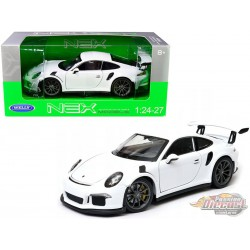 Porsche 911 GT3 RS White 2016  -  Welly 1/24 - 24080  - Passion Diecast