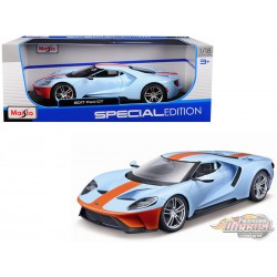 2017 Ford GT Gulf Oil -  Maisto 1/18 - 31384 - Passion Diecast