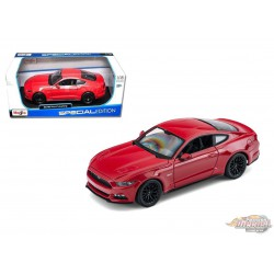 2015 Ford Mustang Red  -  Maisto 1/18 - 31197 - Passion Diecast