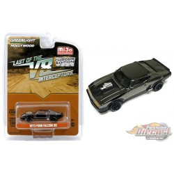 1973 Ford Falcon XB Black Chrome MiJo Exclusives  Greenlight 1/64 - 51229  -  Passion Diecast