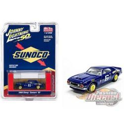 1968 Chevrolet Camaro SS - Sunoco Racing no6 Blue - Johnny Lightning 1:64 - JLCP7239  -  Passion Diecast