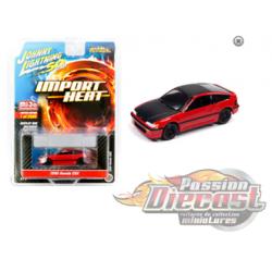 "1990 Honda CRX Red  ""Street Freaks"" ""Johnny Lightning 50th Anniversary'' 1:64 - JLCP7200 -  Passion Diecast"