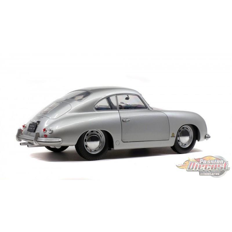 Silver Porsche 356: Porsche 356 Pre-A Silver