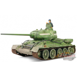 T-34/85 - Soviet Army 55th Guard's Brigade, 7th Guard Corps  , Berlin 1945 -  Forces of Valor 1/32 - 801013A - Passion diecast