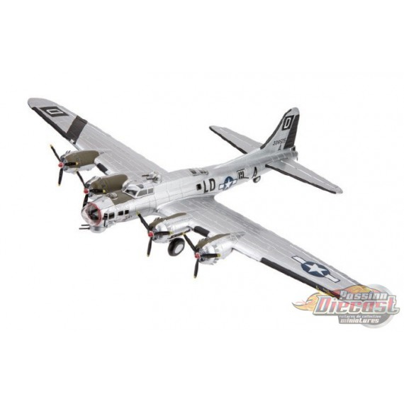 """Boeing B-17G Flying Fortress """"Miss Conduct"""" 100 BG/481 BS,   Air Force 1 1/72  AF1-0110 C - Passion Diecast"""